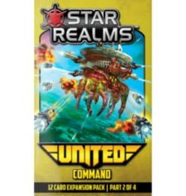 White Wizard Games Star Realms: Ext. United Command (EN)  (commande spéciale)