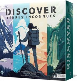 Fantasy Flight Discover : Terres inconnues (FR)