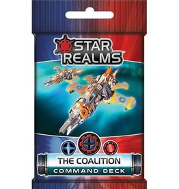 White Wizard Games Star Realms Commands Deck-The Coalition (EN)