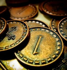 Karma games Clans of Caledonia Metal Coins (ML)  (commande spéciale)
