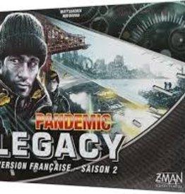 Z-Man Games Pandemic: Legacy Noir Saison 2 (FR)  (commande spéciale)