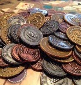 Stonemaier Games Viticulture: Tuscany Metal Lira Coins (EN) (commande spéciale)