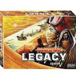 Z-Man Games Pandemic: Legacy Jaune Saison 2 (FR)  (commande spéciale)