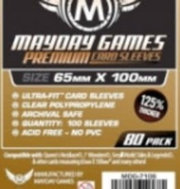 Mayday Games Sleeves - MDG-7106 «Magnum Copper» 65mm X 100mm Deluxe / 80