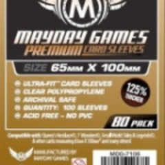 Sleeves - MDG-7106 «Magnum Copper» 65mm X 100mm Deluxe / 80