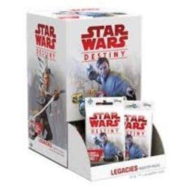 Fantasy Flight Solde: Star Wars Destiny: Legacies Booster single (FR)