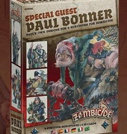 Cool Mini Or Not Zombicide Black Plague: Paul Bonner (ML) (Commande Spécial)