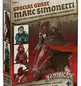 Cool Mini Or Not Zombicide Black Plague: Marc Simonetti (ML) (Commande Spéciale)