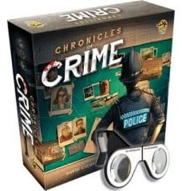 Lucky Duck Games Précommande: Chronicles of crime + Lunettes (FR)