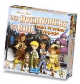 Days of Wonders Les Aventuriers du Rail: Mon Premier Voyage Europe (FR)