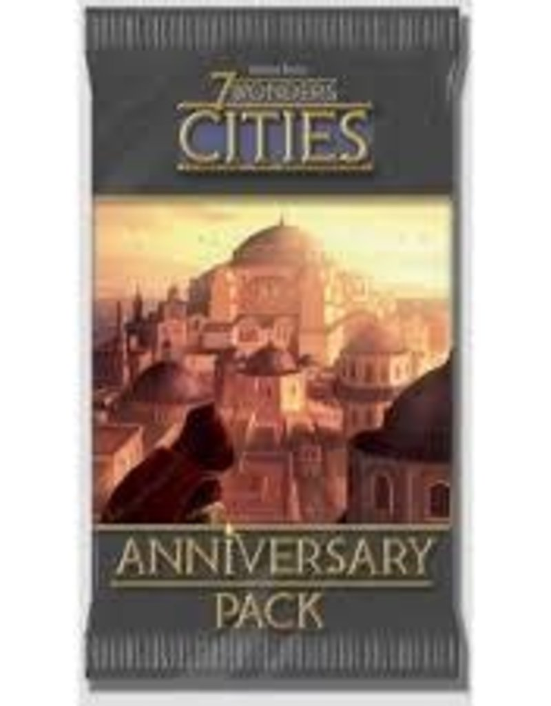 Repos Production 7 Wonders: Ext. Cities Anniversary Pack (FR) (commande spéciale)