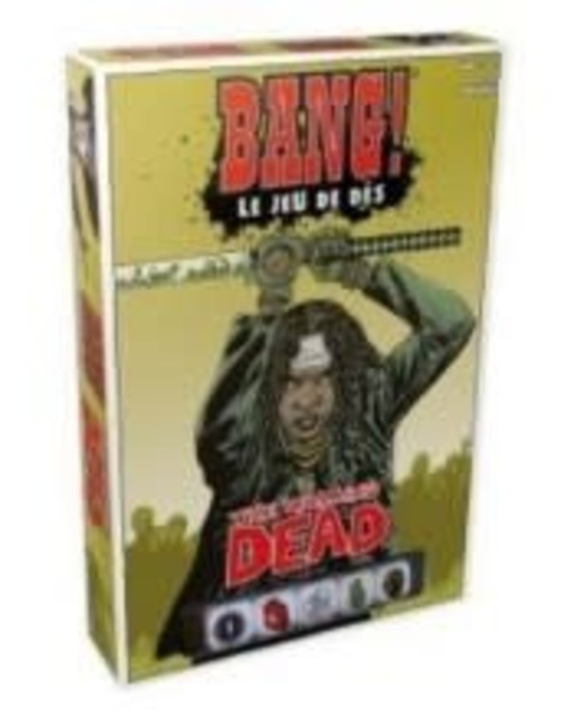 Asmodee Bang!: Le Jeu de Dés: The Walking Dead (FR)