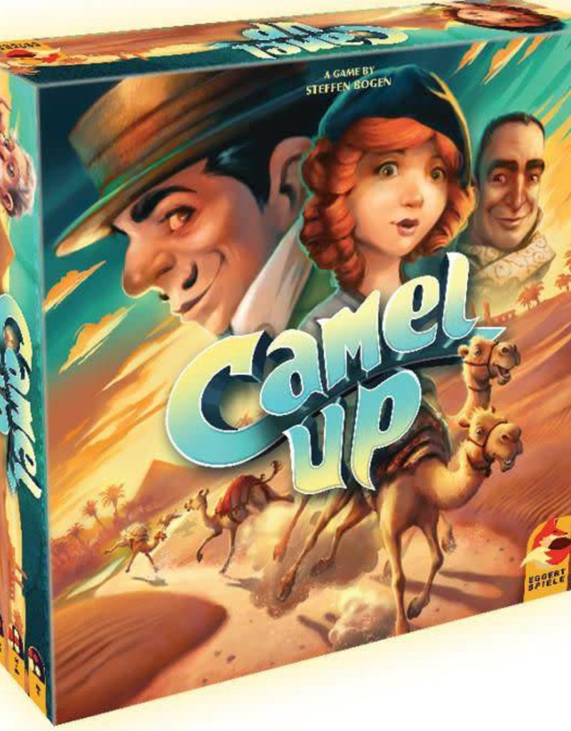 Eggertspiel Camel up: 2.0 Nouvelle edition (ML)