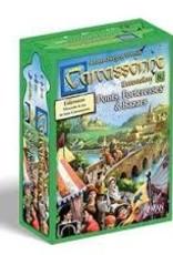 Z-Man Games Carcassonne: Ext. Bazars, Ponts et Forteresses (FR)
