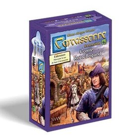 Z-Man Games Carcassonne: Ext. Comte, Roi et Brigands (FR)