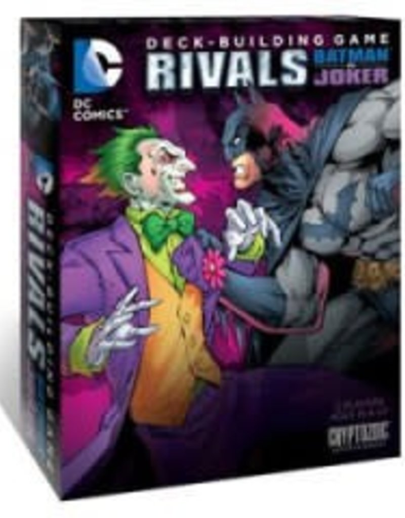 Cryptozoic Entertainment DC Comics  Deck Building Game: Rivals Batman vs Joker (EN)