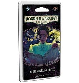 Fantasy Flight Précommande: Horreur à Arkham JCE - Ext. Le salaire du péché (FR)