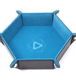 Die Hard Die Hard Dice Tray Hexagone - Bleu Sarcelle