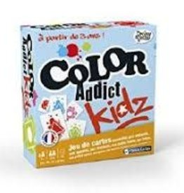 France Cartes Color Addict: Kidz (FR)