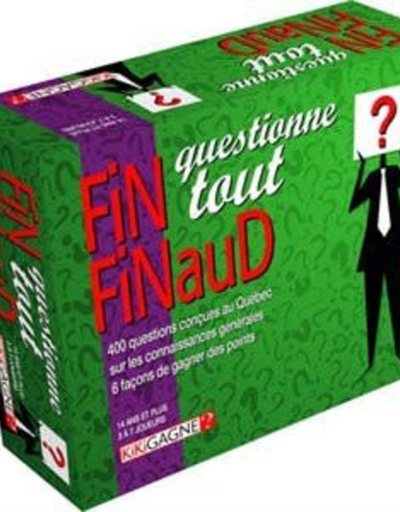 Kikigagne Fin Finaud: Questionne Tout (FR)