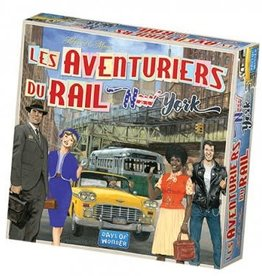 Days of Wonders Les Aventuriers du Rail: New York (FR)