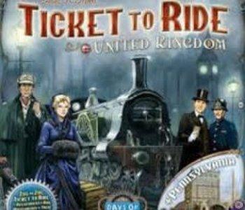 Les Aventuriers du Rail: Ext. Royaume-Uni (ML)