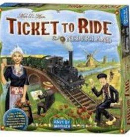 Days of Wonder Les Aventuriers du Rail: Ext. Pays-Bas (ML)