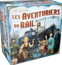 Days of Wonders Les Aventuriers du Rail: Autour du monde (FR)
