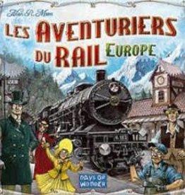 Days of Wonder Les Aventuriers du Rail: Europe (FR)
