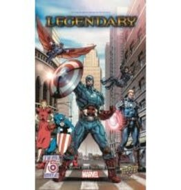 Upper Deck Marvel Legendary: Ext. Captain America (EN)
