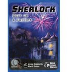 Geek Attitude Games Q System Serie Sherlock: Mort un 4 Juillet (FR)