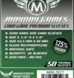Mayday Games Sleeves - MDG-7077 «Standard» 63.5mm X 88mm Deluxe / 50