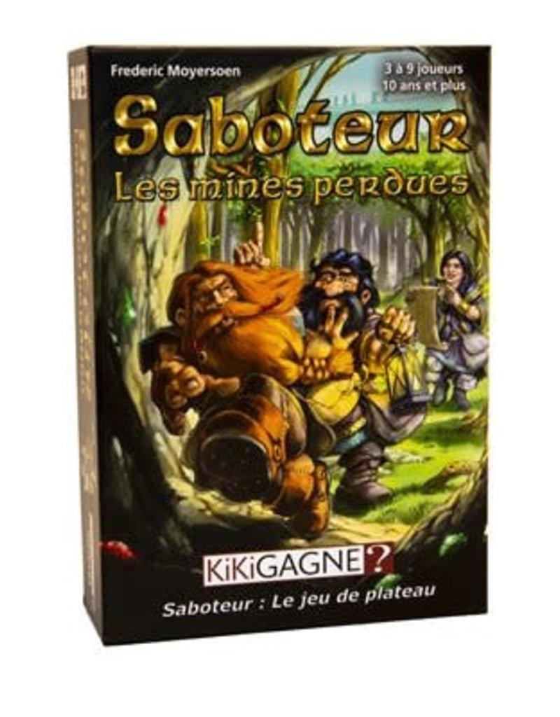 Kikigagne Saboteur: Les Mines Perdues (FR)