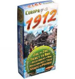 Days of Wonders Les Aventuriers du Rail: Ext. Europa 1912 (ML)