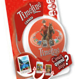 Asmodee Timeline: Canada (Blister) (FR)