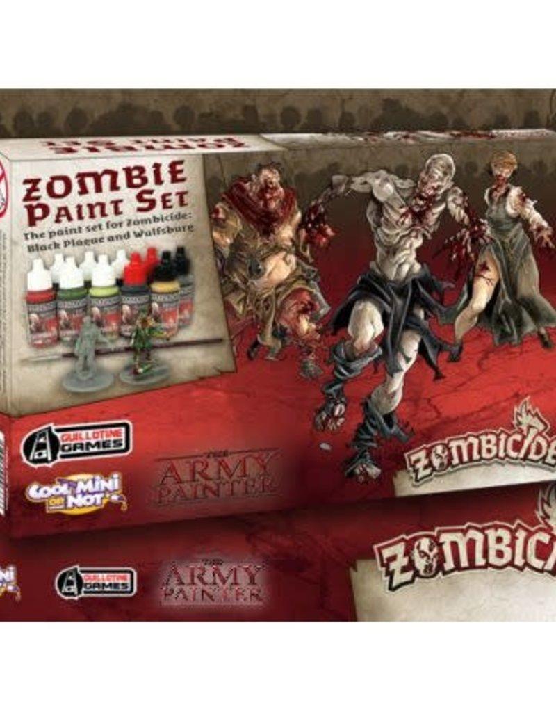 Protege Carte Zombicide Black Plague.Army Painter Warpaints Zombicide Black Plague Paint Set
