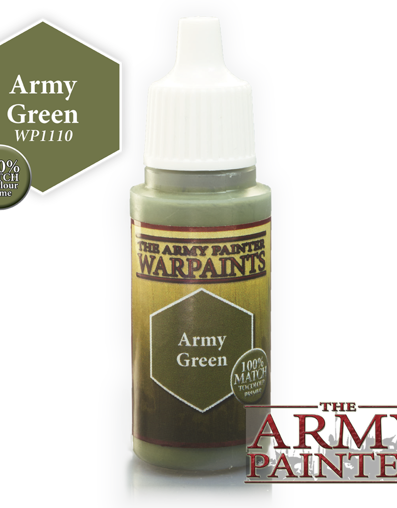 The Army Painter Acrylics Warpaints - Army Green