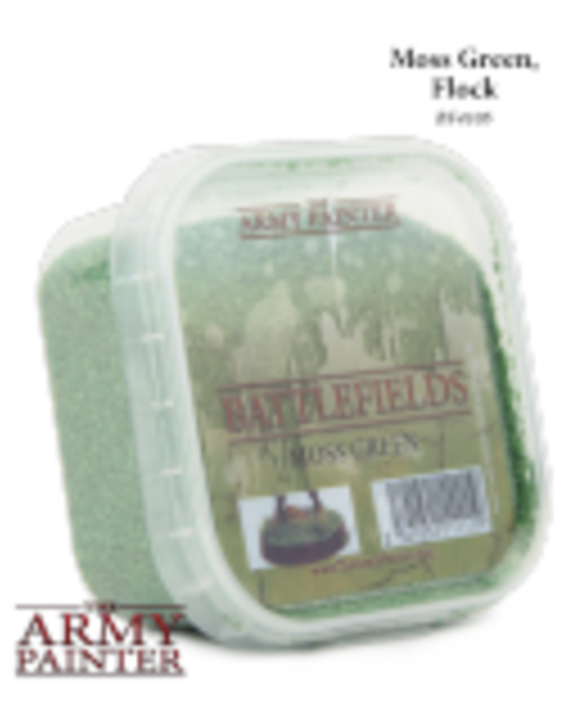 The Army Painter Battlefields: Moss Green, Flock