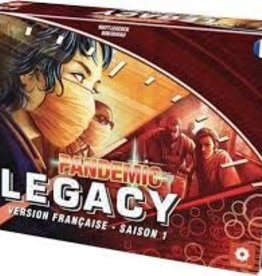 Z-Man Games, Inc. Pandemic: Legacy: Saison 1: Rouge (FR)