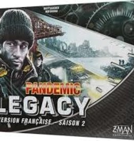 Z-Man Games Pandemic: Legacy: Saison 2: Noir (FR)  (commande spéciale)