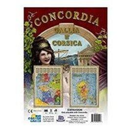 Rio Grande Games Concordia: Ext. Gallia And Corsica (EN)