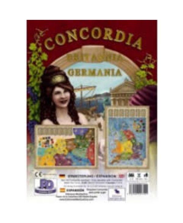 Concordia: Ext. Britania And Germania (EN)