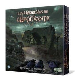 Fantasy Flight Les Demeures De L'épouvante: Ext. Effroyables Excursions: 2ième Édition (FR)