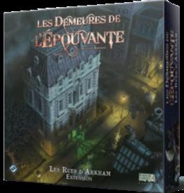 Fantasy Flight Games Les Demeures De L'Épouvante: Ext: Les Rues D'Arkham: 2ième Édition (FR)