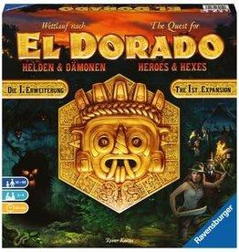 Ravensburger The Quest For El Dorado: Ext. Heroes And Hexes (EN)