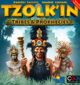 Czech Games Edition Tzolk'in: The Mayan Calendar: Ext. Tribes and Prophecies (EN)