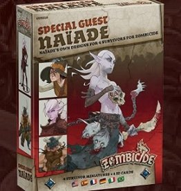 Cool Mini Or Not Zombicide: Black Plague: Naiade (ML) (Commande Spéciale)