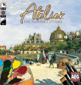 Alderac Entertainment Group Précommande: Atelier: The Painter's Studio (EN)