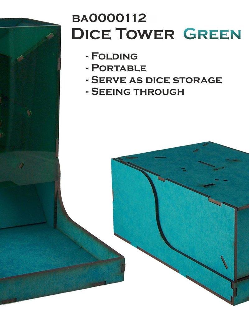 Bandua Wargames Dice Tower Green