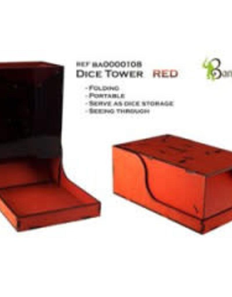 Bandua Wargames Dice Tower Red